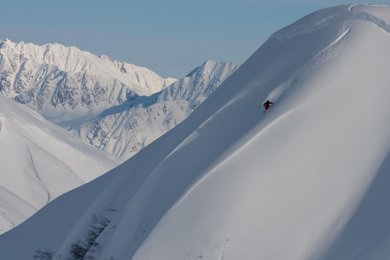 Sage Cattabriga-Alosa in Girdwood, Alaska, by Pete O'Brien