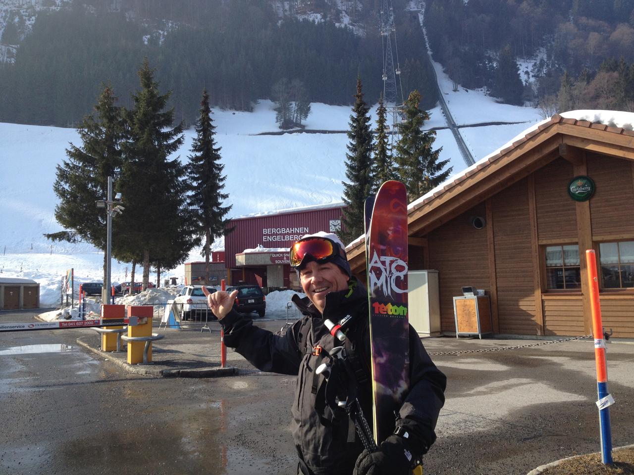Steve Jones In Engelberg Switzerland