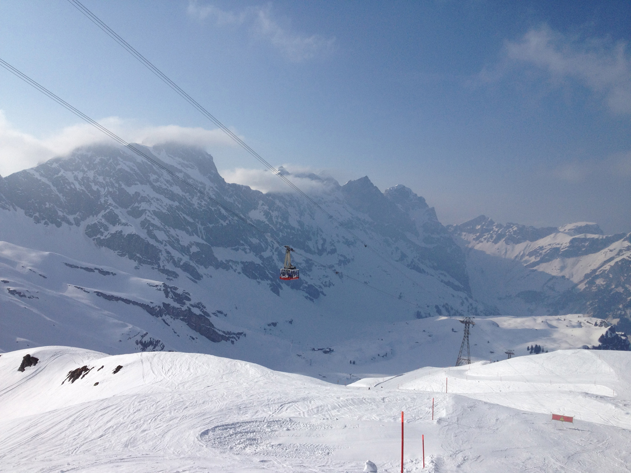 Engelberg has some of the best lift access skiing in Europe.