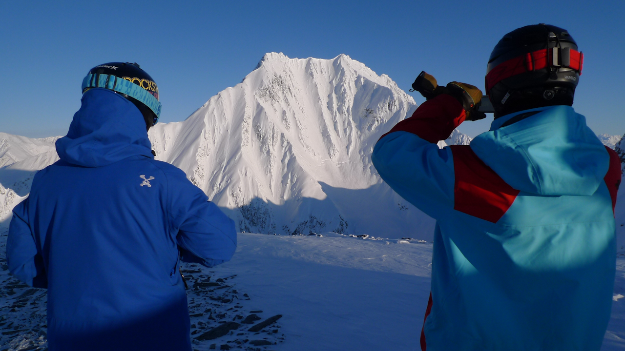 Erik Roner and Todd Ligare in Valdez, AK
