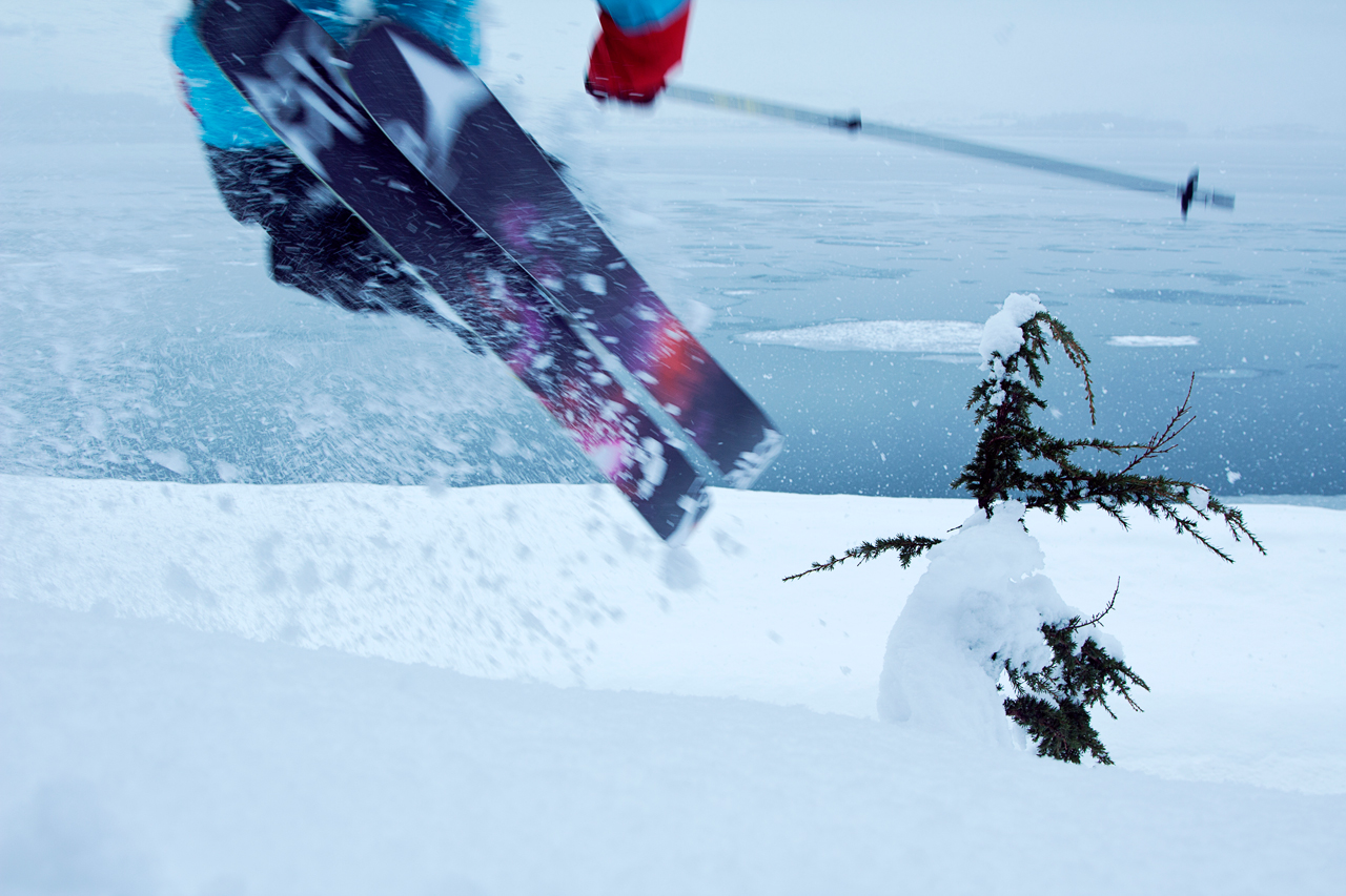 Todd Ligare likes his new Atomic skis.jpg