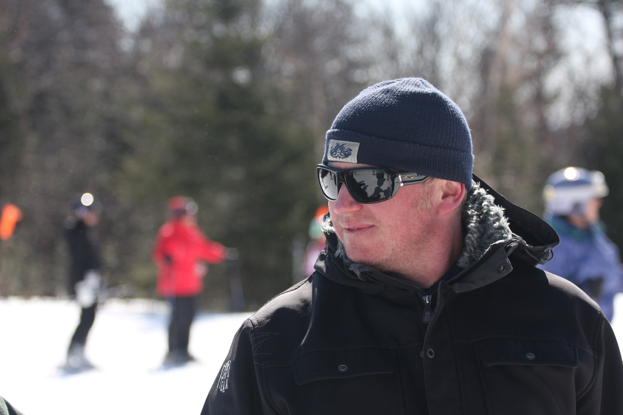 Jesse Murphy one of the co-owners of Vermont North Ski Shop helped put on this super successful weekend for High Fives,