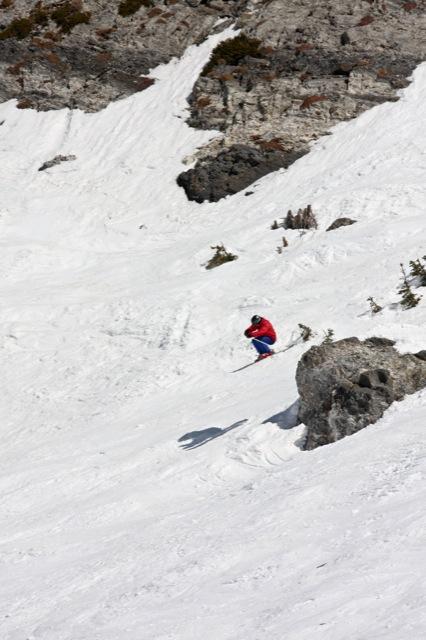 FWT Skier Snowbird