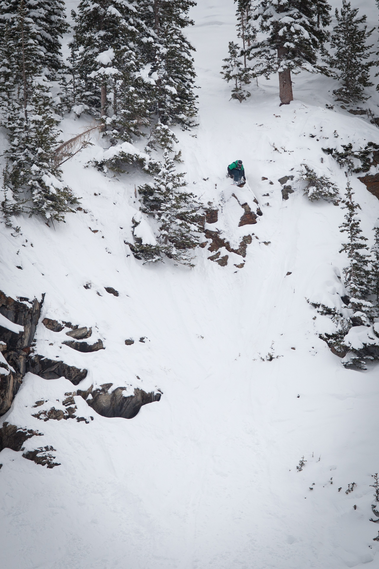 Alex Yoder at The North Face Masters Snowbird 2012