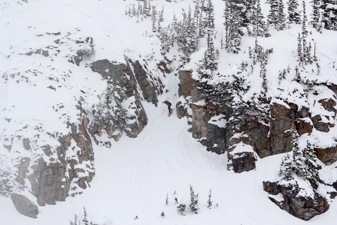 Blake Paul at The North Face Master at Snowbird