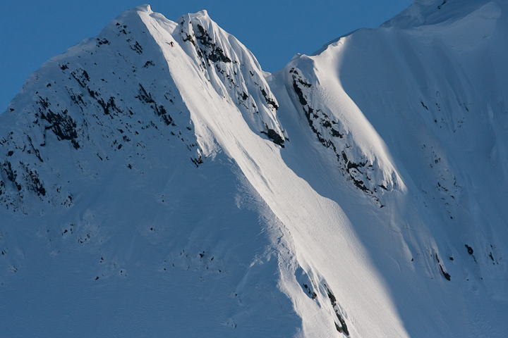 Chris Benchetler First Descent Haines, Alaska, By Pete O'Brien