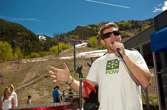 Auden Schendler, VP of Sustainability at Aspen Skiing Co. width=