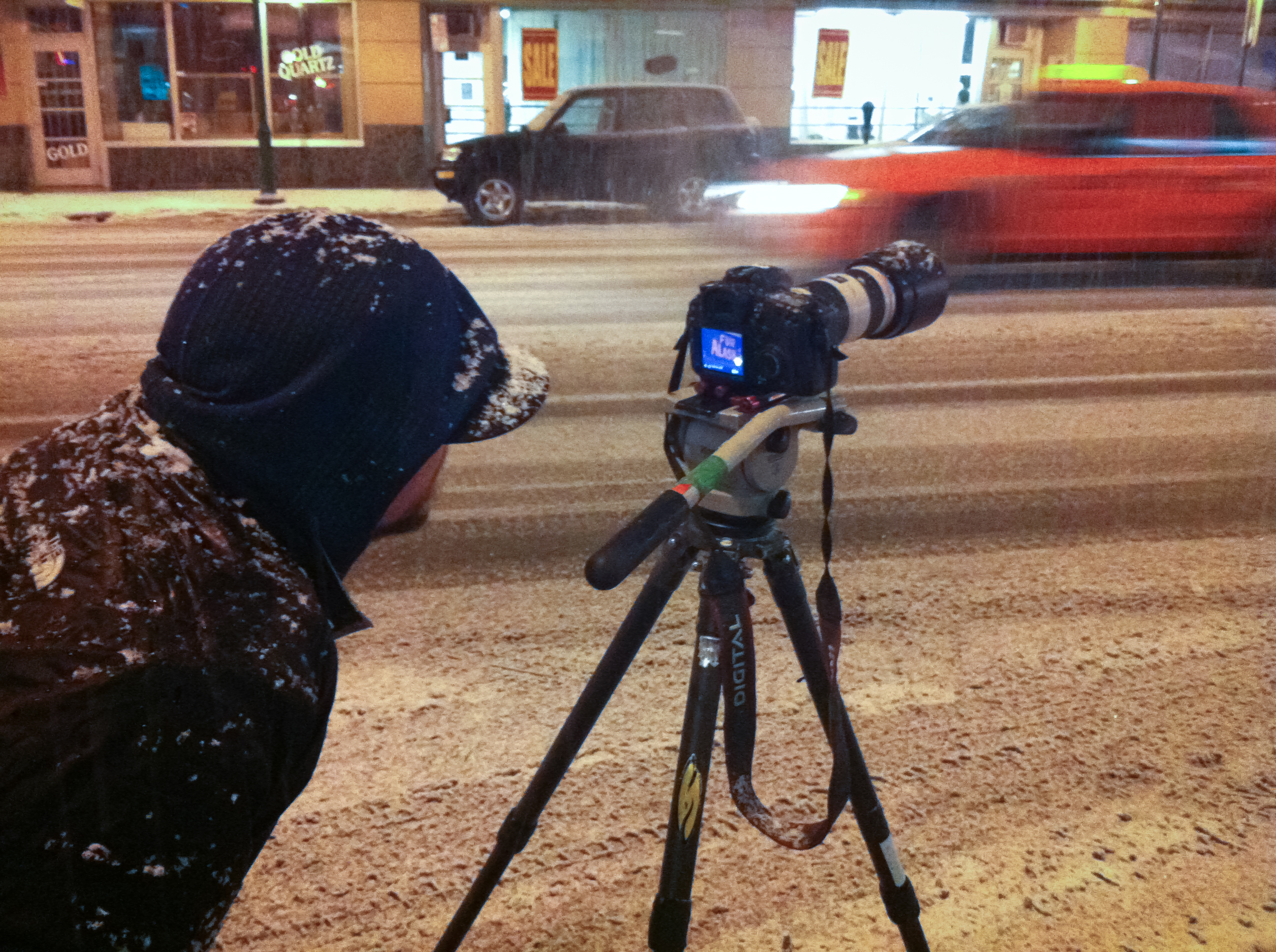 Teton Gravity Research Founder Todd Jones Films In Anchorage Alaska