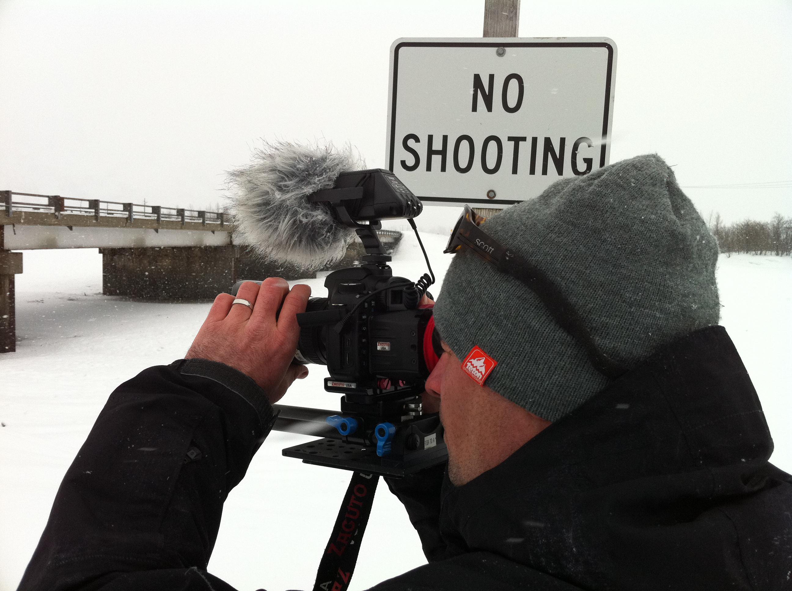 Teton Gravity Research Cinematographer Dustin Handley Films in Alaska