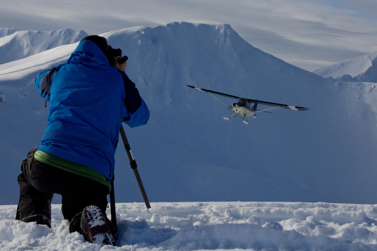Teton Gravity Research Films A Bush Plane In Alaska For The Dream Factory