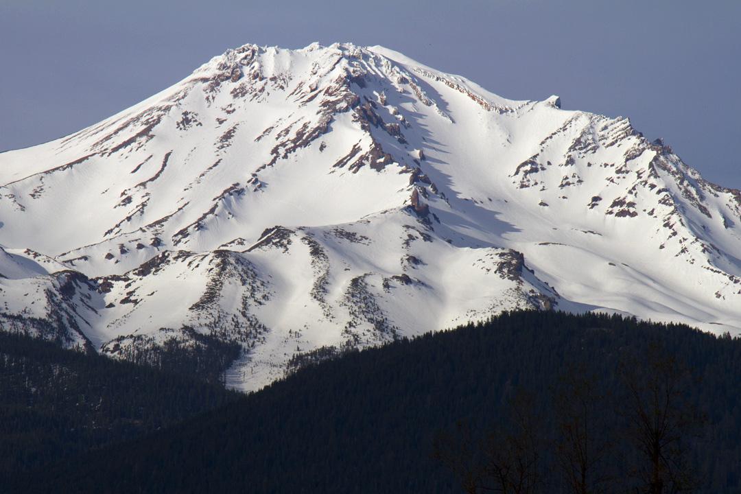 Mount Shasta in California