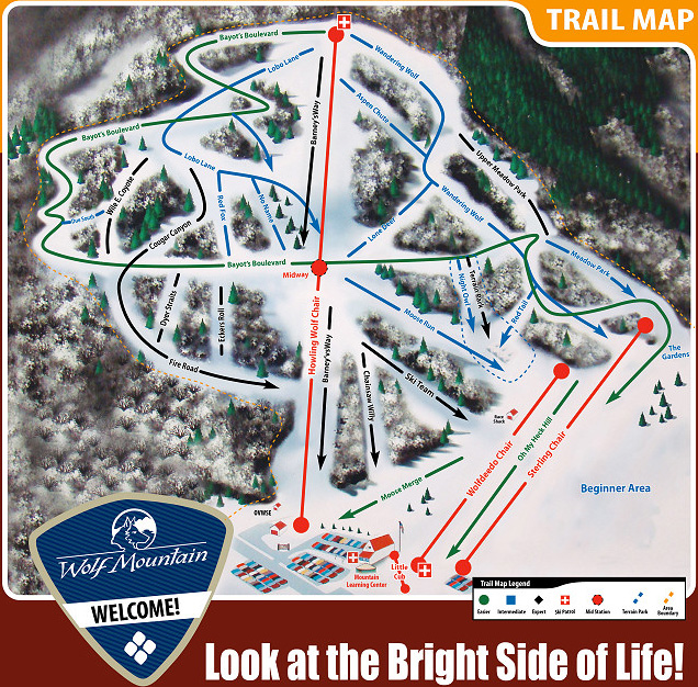 Wolf Creek Utah Trail Map