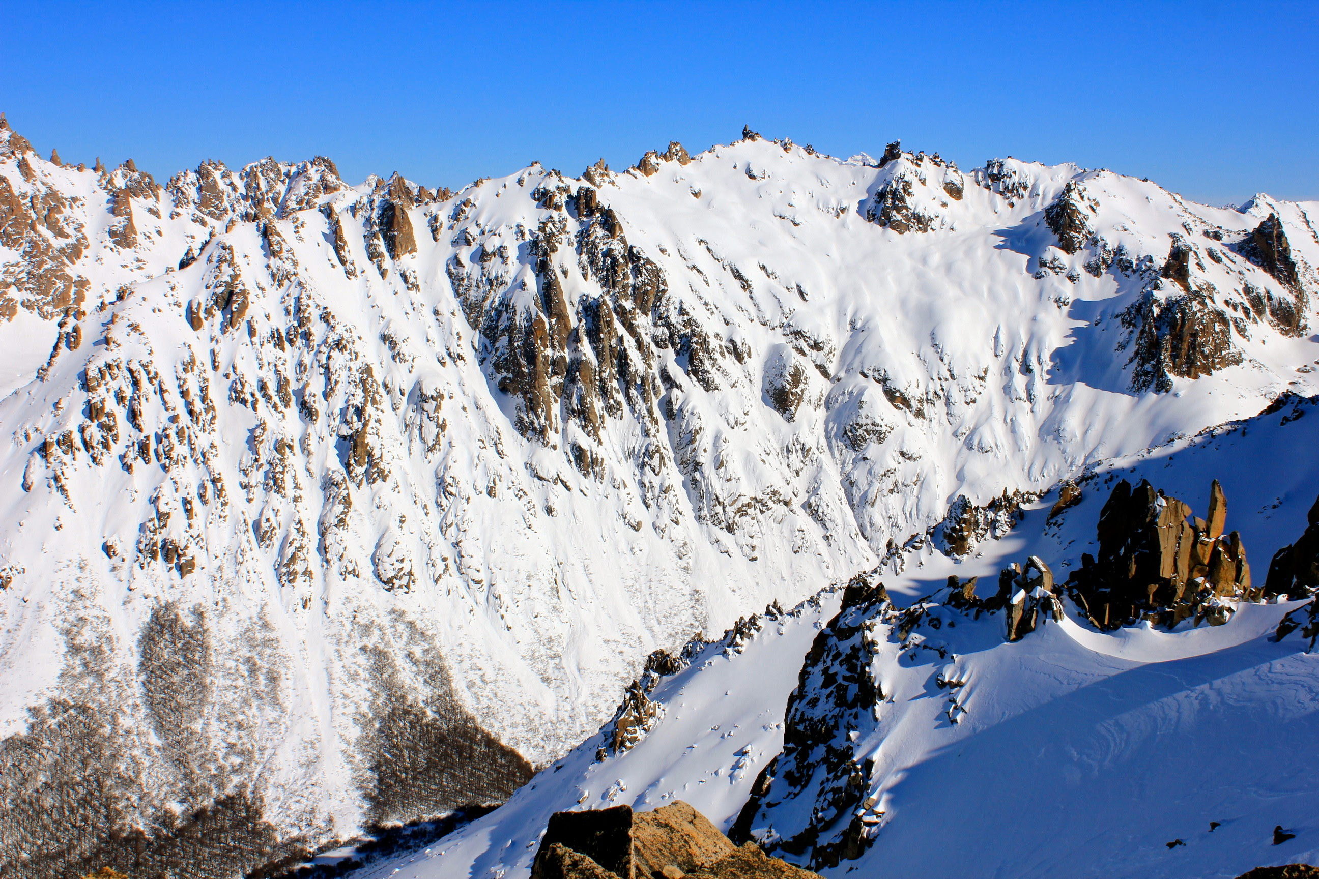 Bariloche Argentina Backcountry By Ryan Dunfee