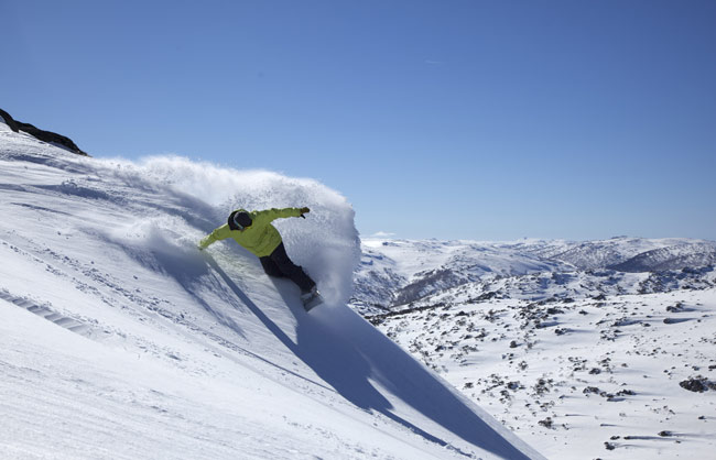 Perisher Snowboarder Australia