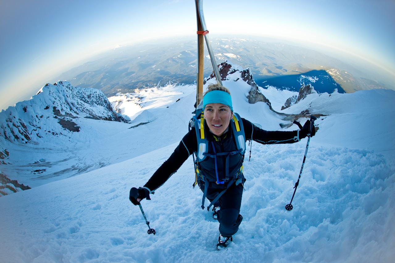 Jess McMillan Climbs Mount Rainier