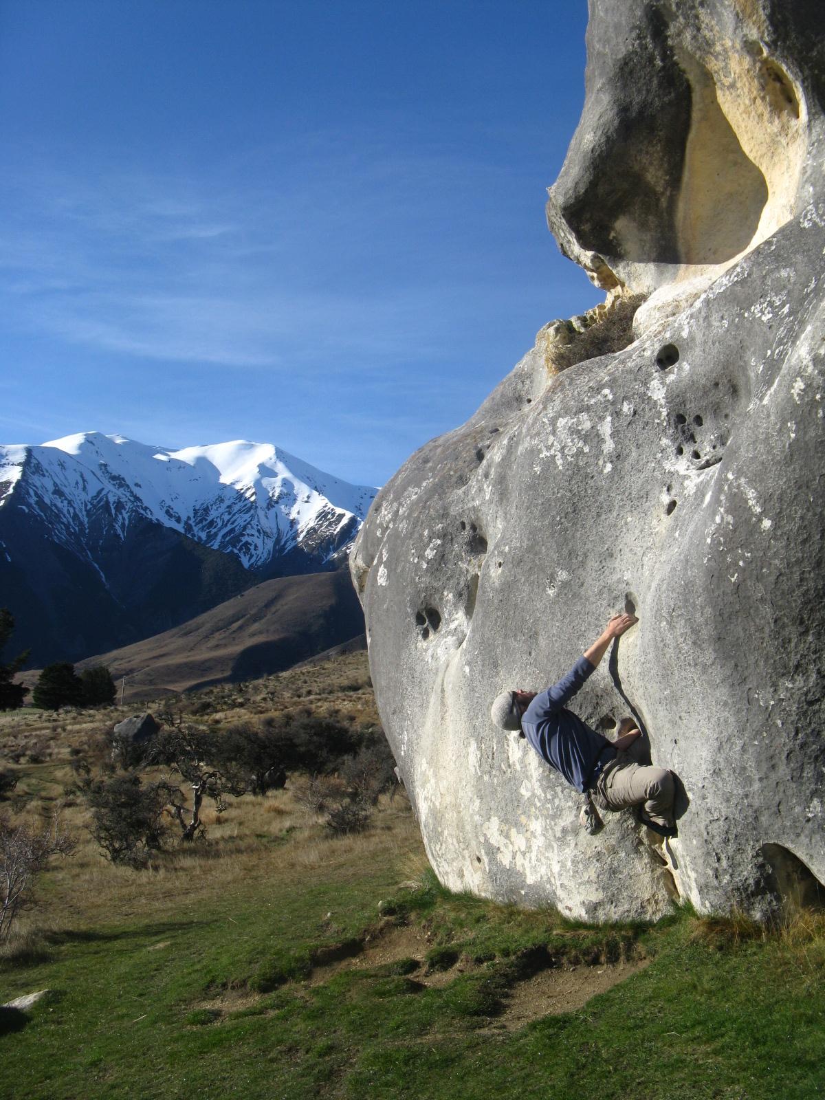 Bouldering in New Zealand