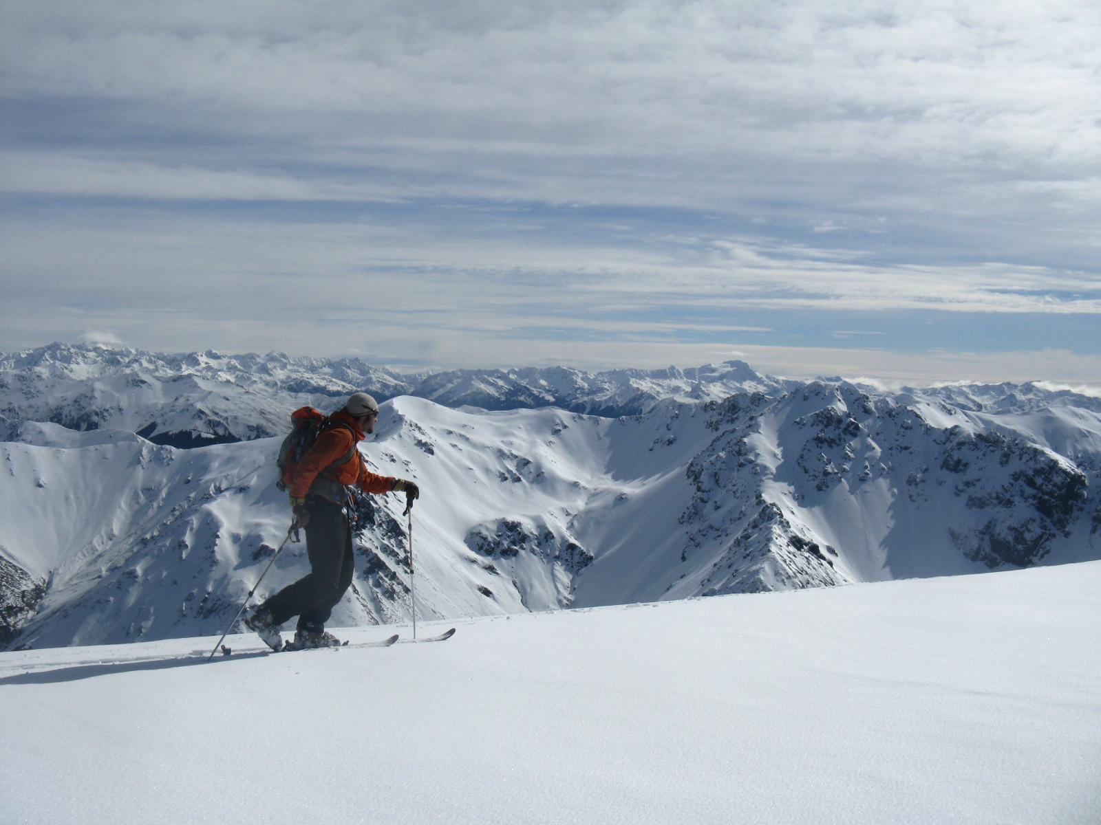Ski Touring Near Broken River Ski Club in New Zealand