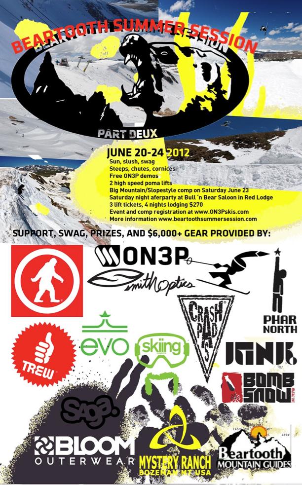 Beartooth 2012 Flyer