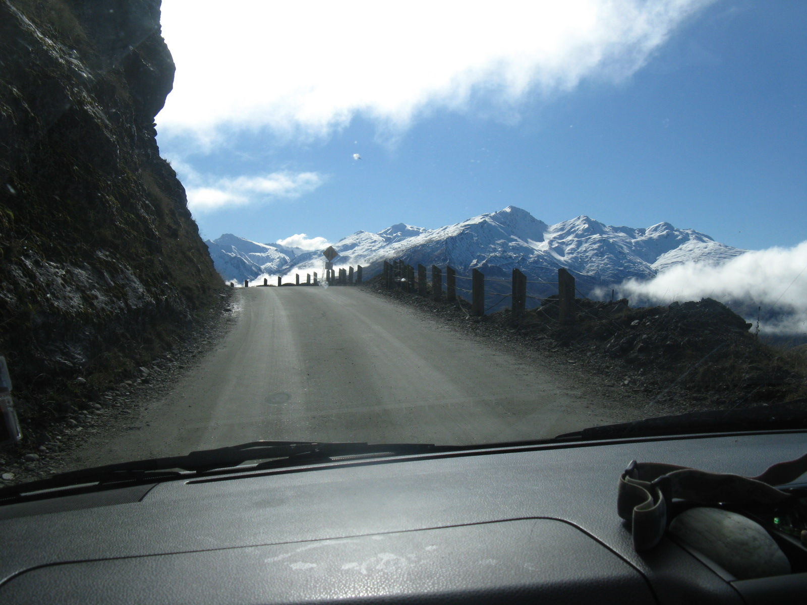 Access Road in New Zealand