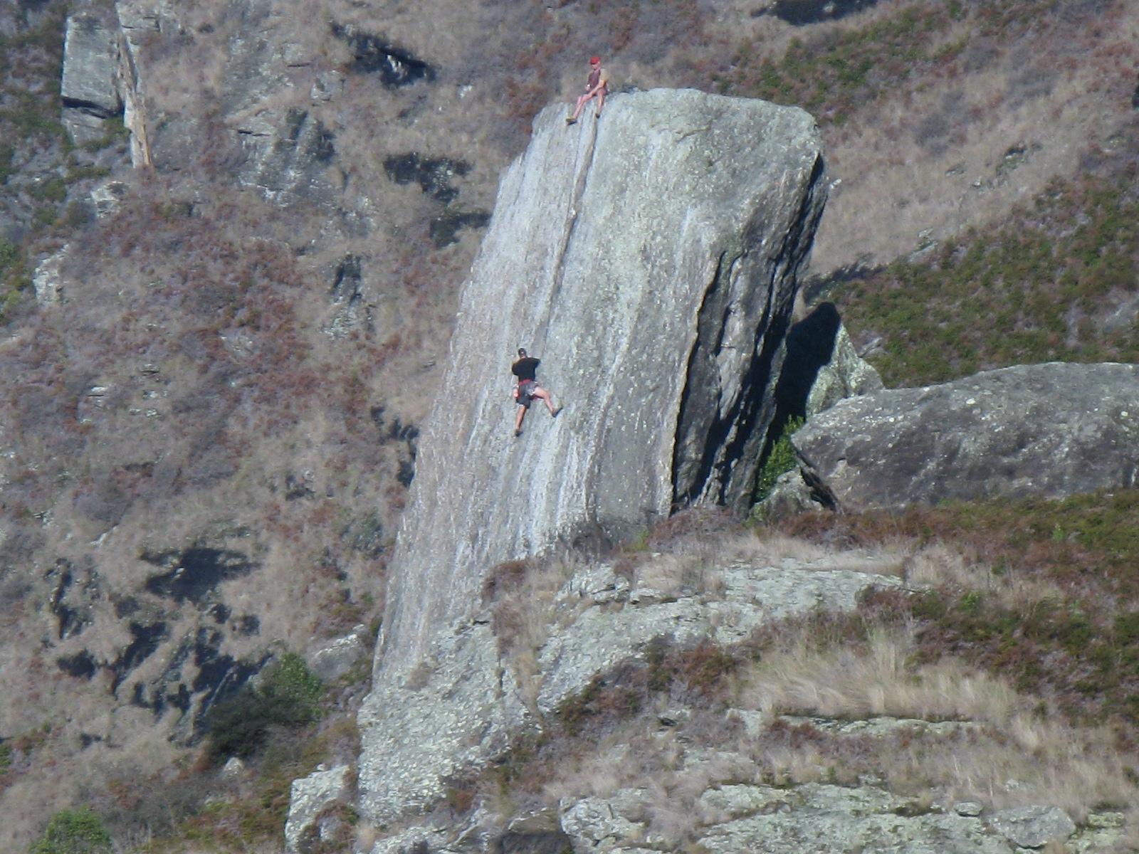 Rock Climbing in New Zealand