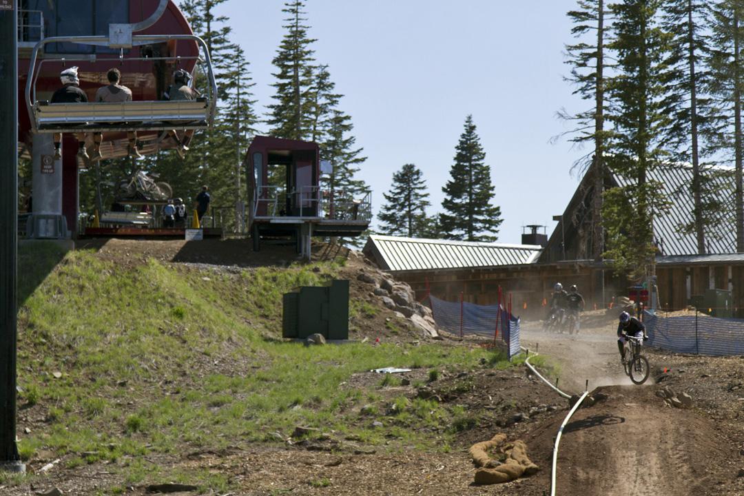 Northstar Tahoe mountain bike park