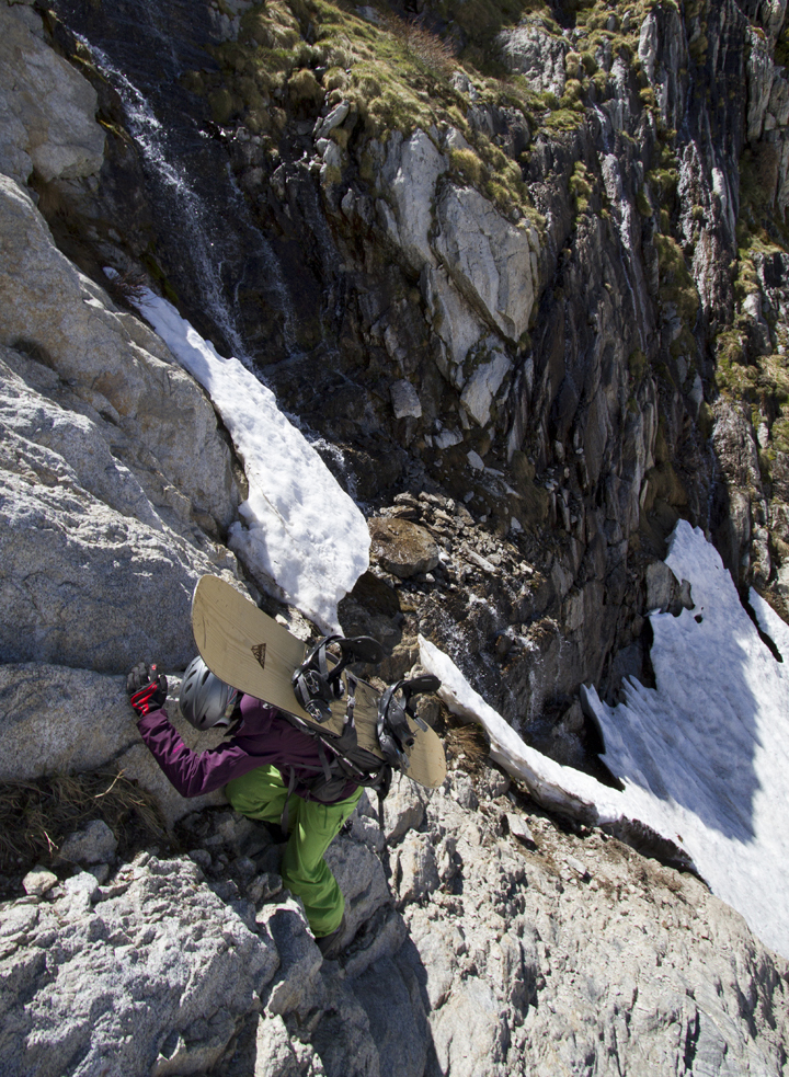 Downclimbing in the Sierras