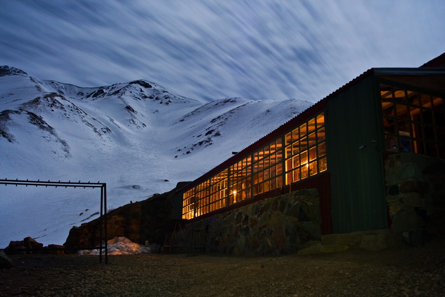 Ski Arpa base lodge