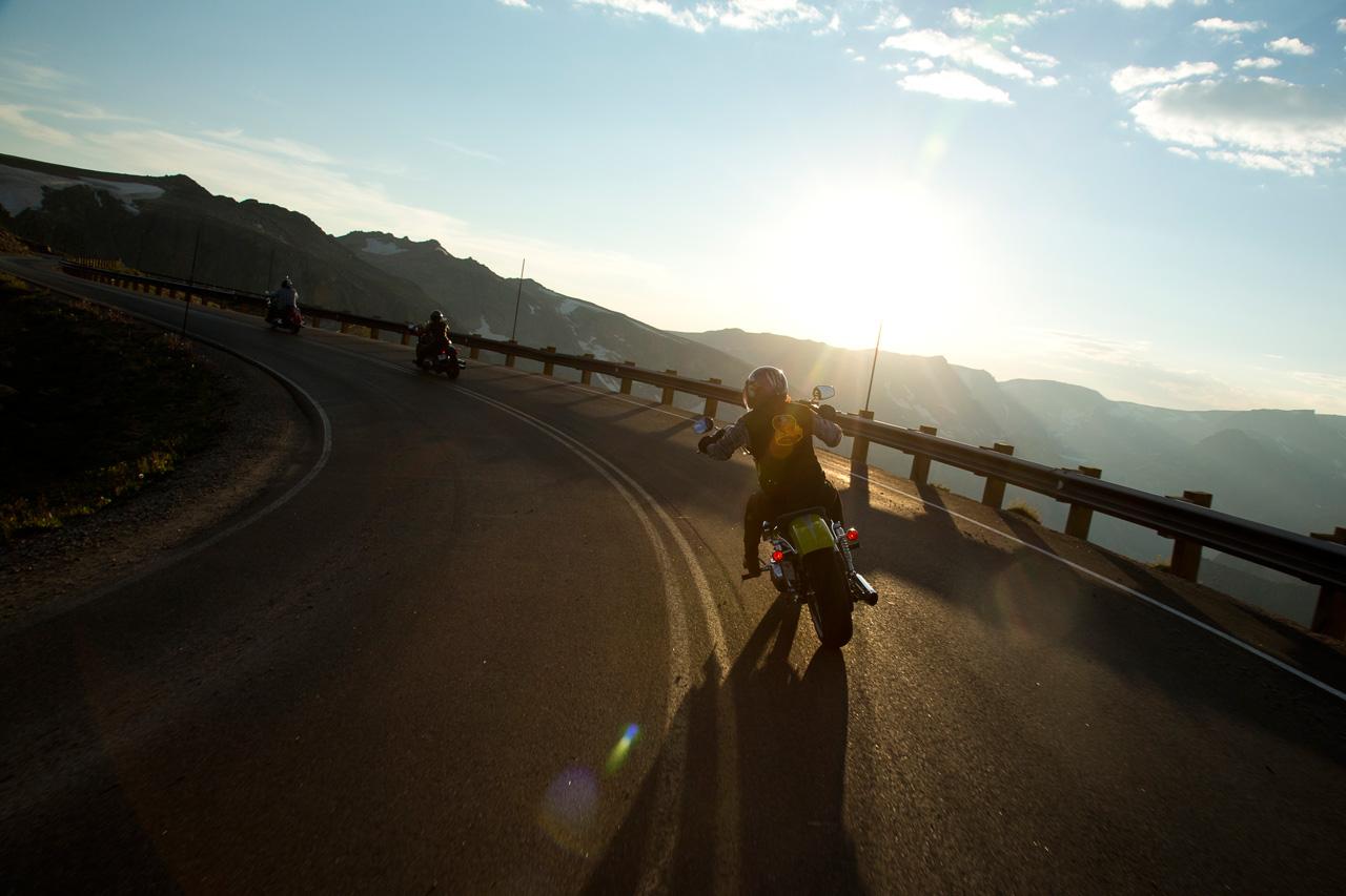 Sunset on Beartooth Pass. Life never felt so good.