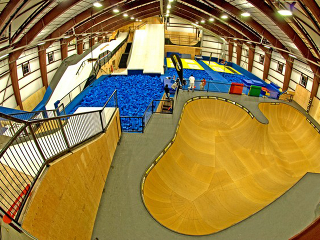 woodward indoor park