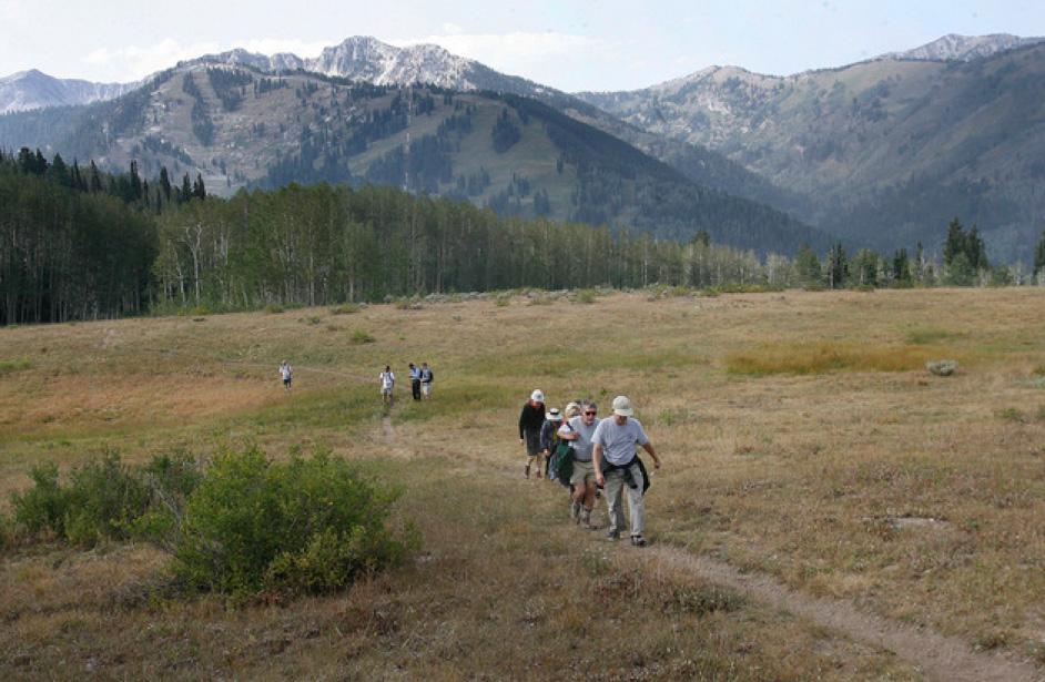 Hiking near SkiLink photo by Scott Sommerdorf / The Salt Lake Tribune