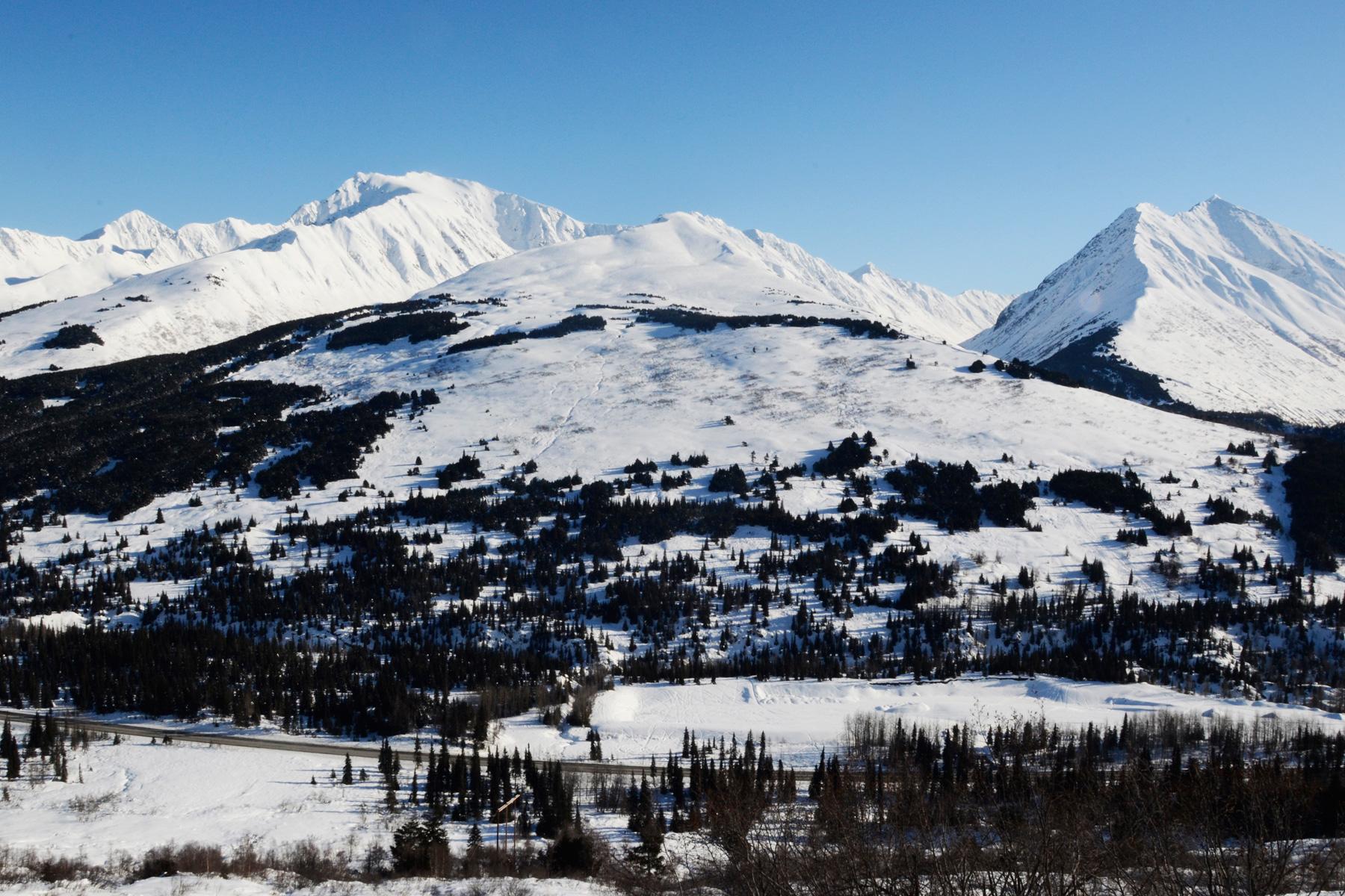 Manitoba Mountain on the Kenai Peninsula