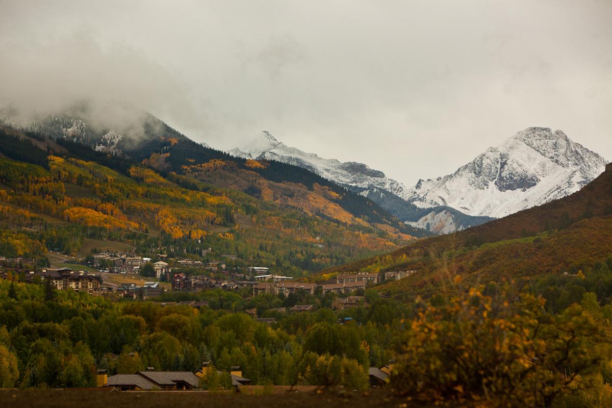 Aspen September snow by Jeremy Swanson