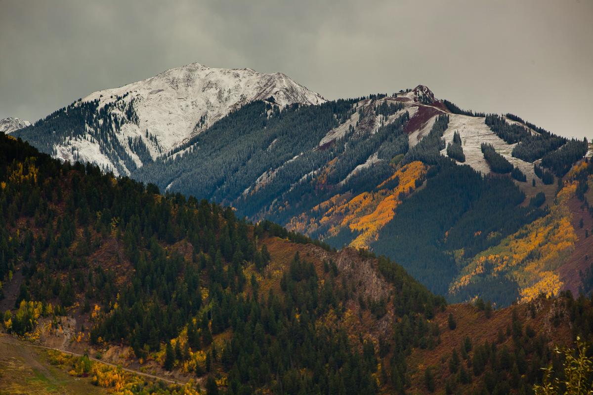 Snow in September in Aspen by Jeremy Swanson