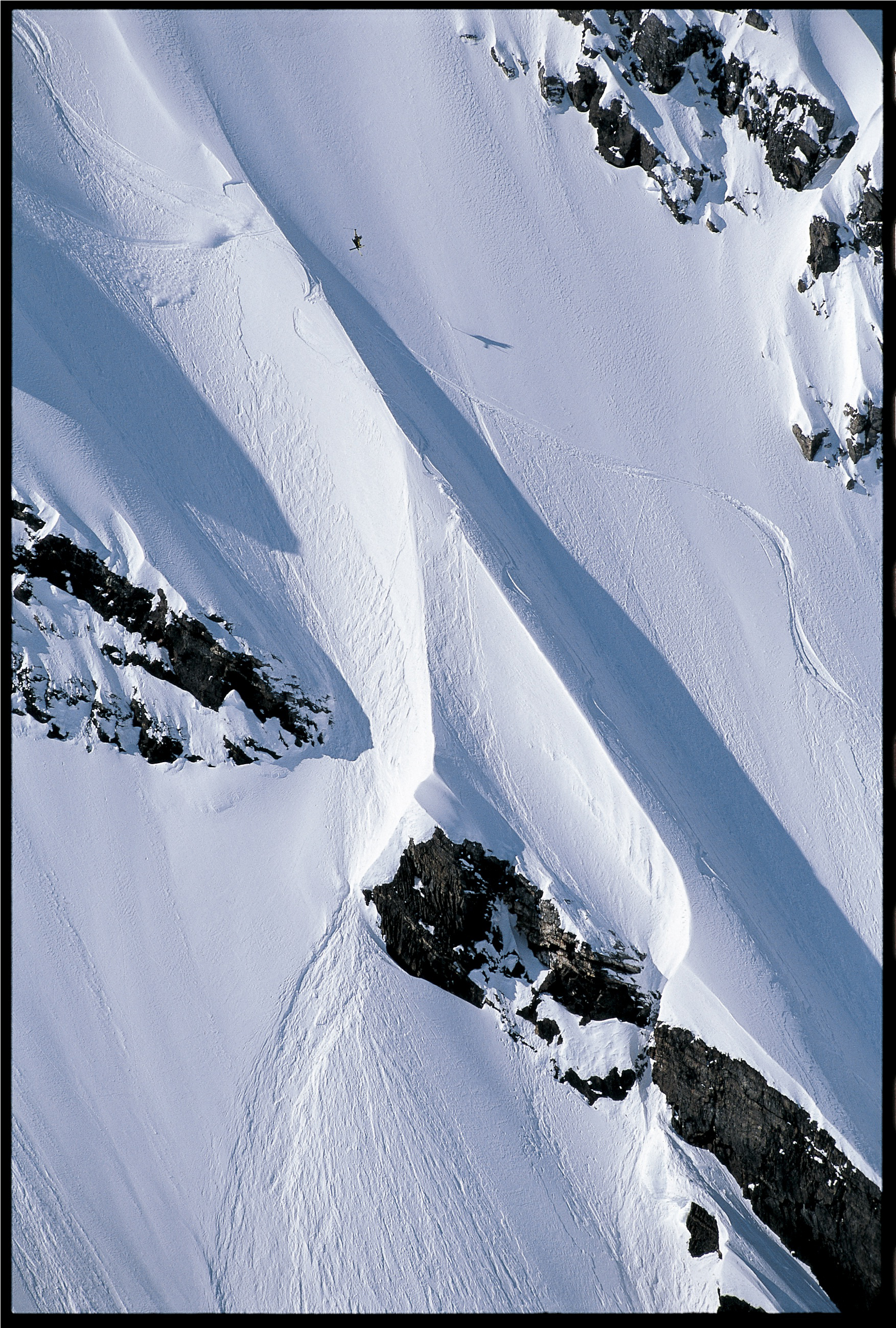 JP Auclair sends it in the Chugach 2001 by Flip McCririck