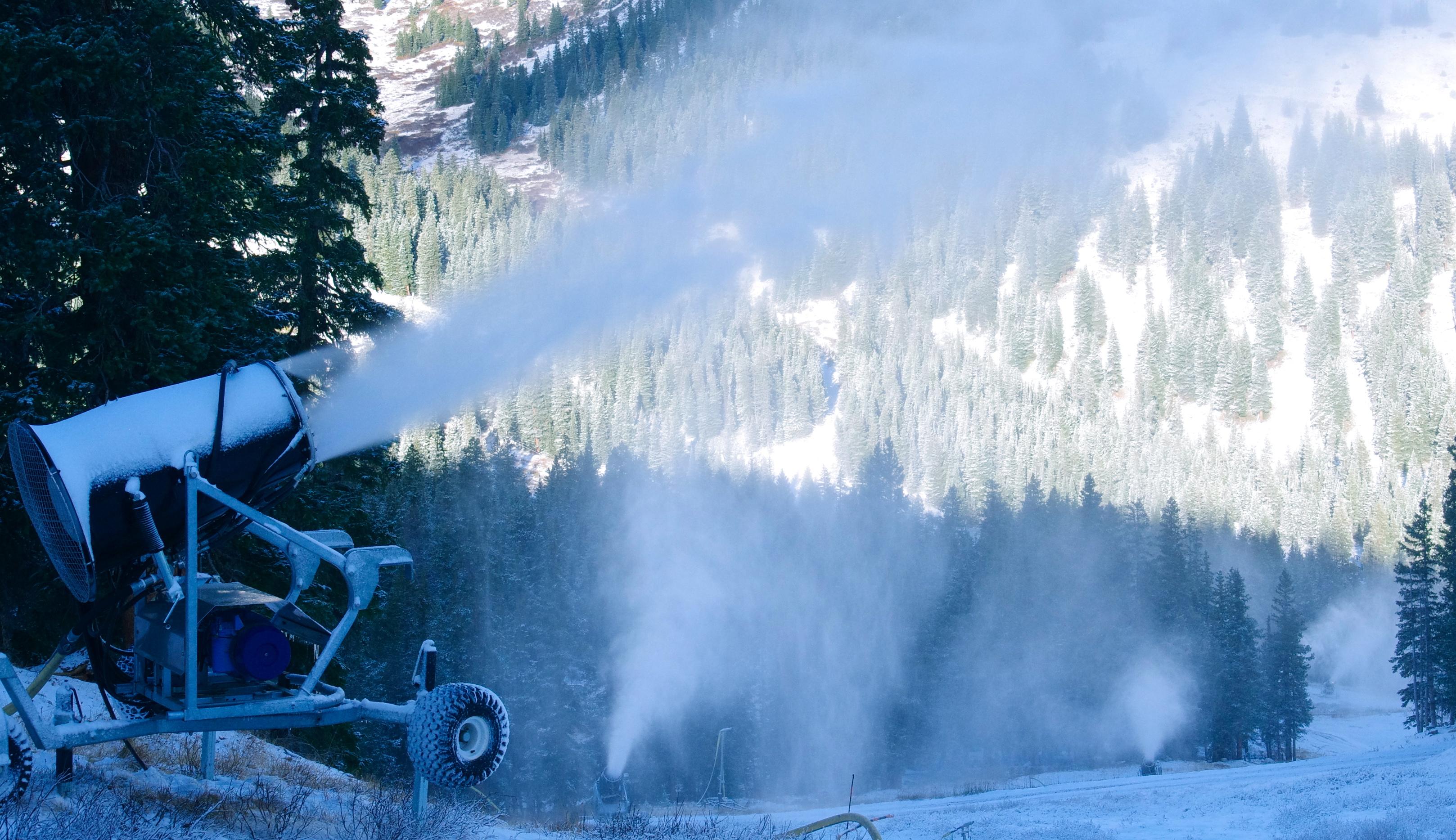 Loveland Ski Area Snowmaking 2012