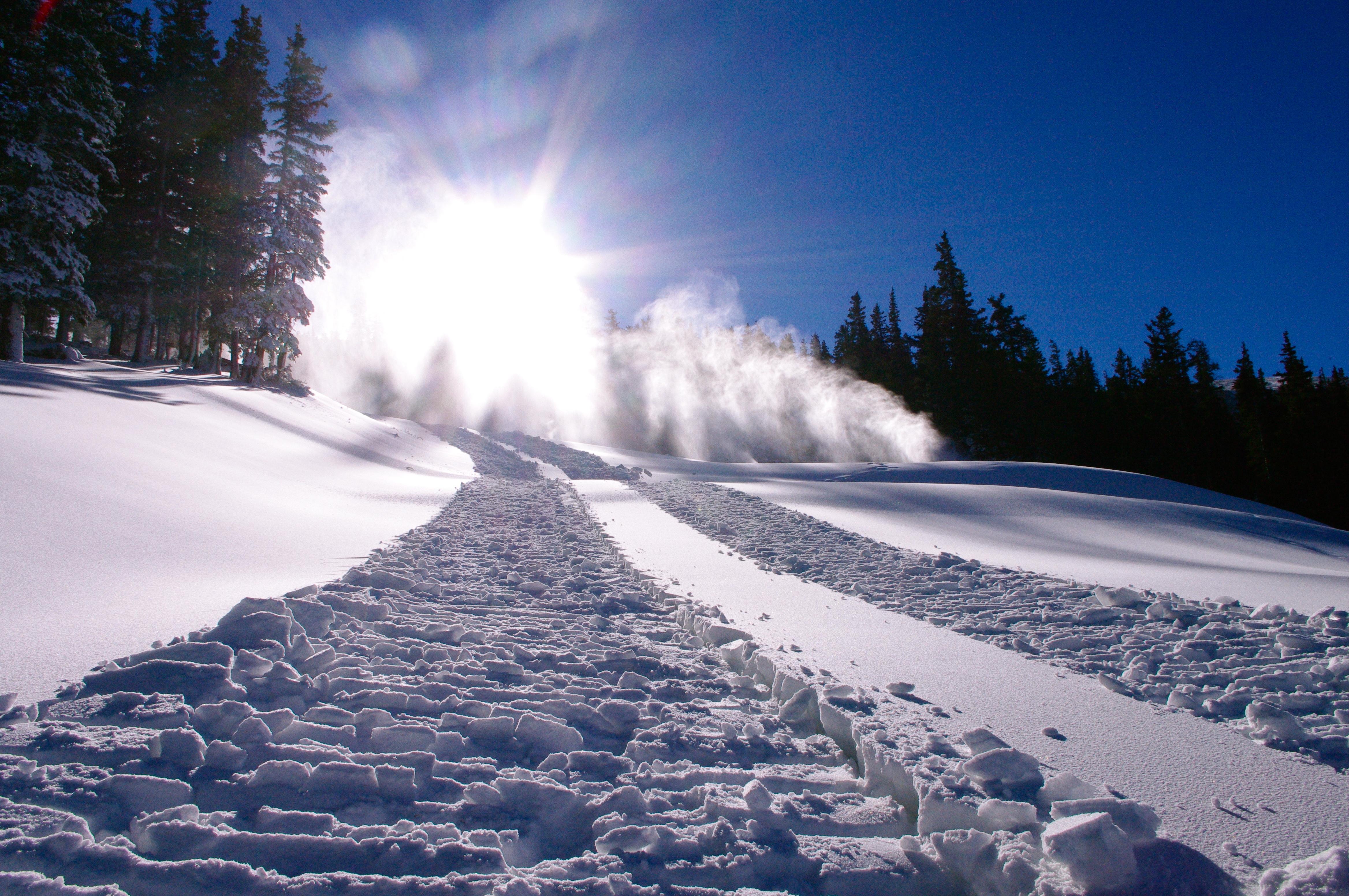 Loveland snowmaking 2012