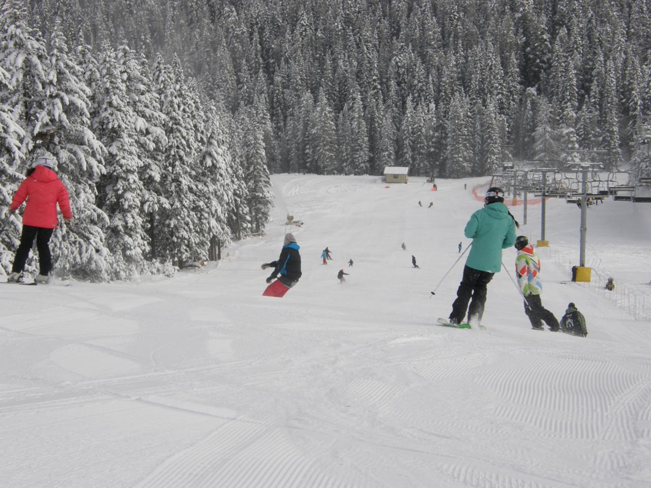 Mt. Norquay Skiers