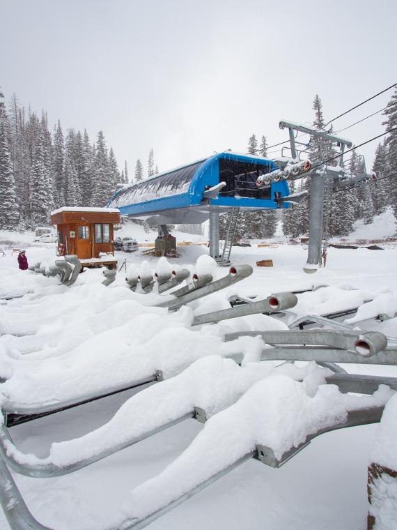 Snowbird Resort on October 25