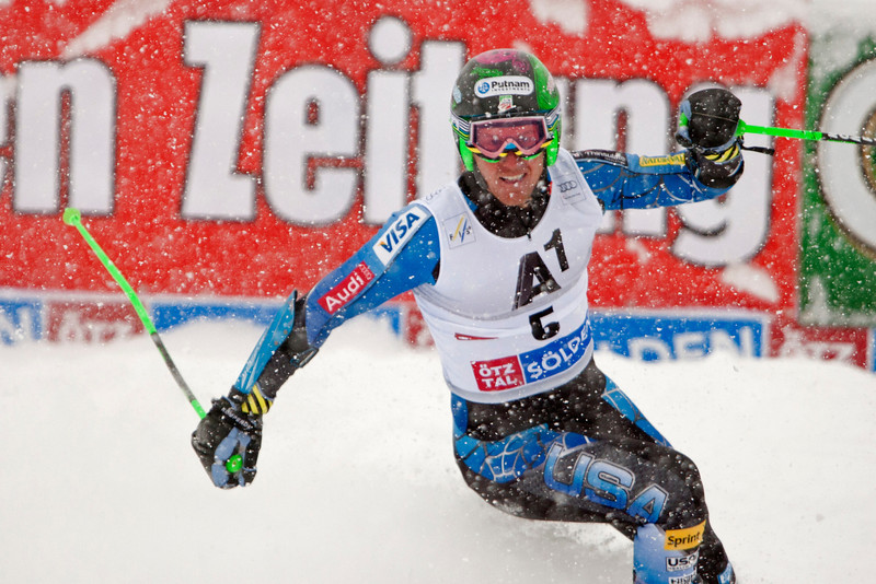 Ted Ligety crushing it for the USA