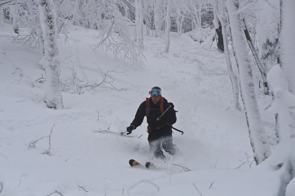 Crushing pow in WV