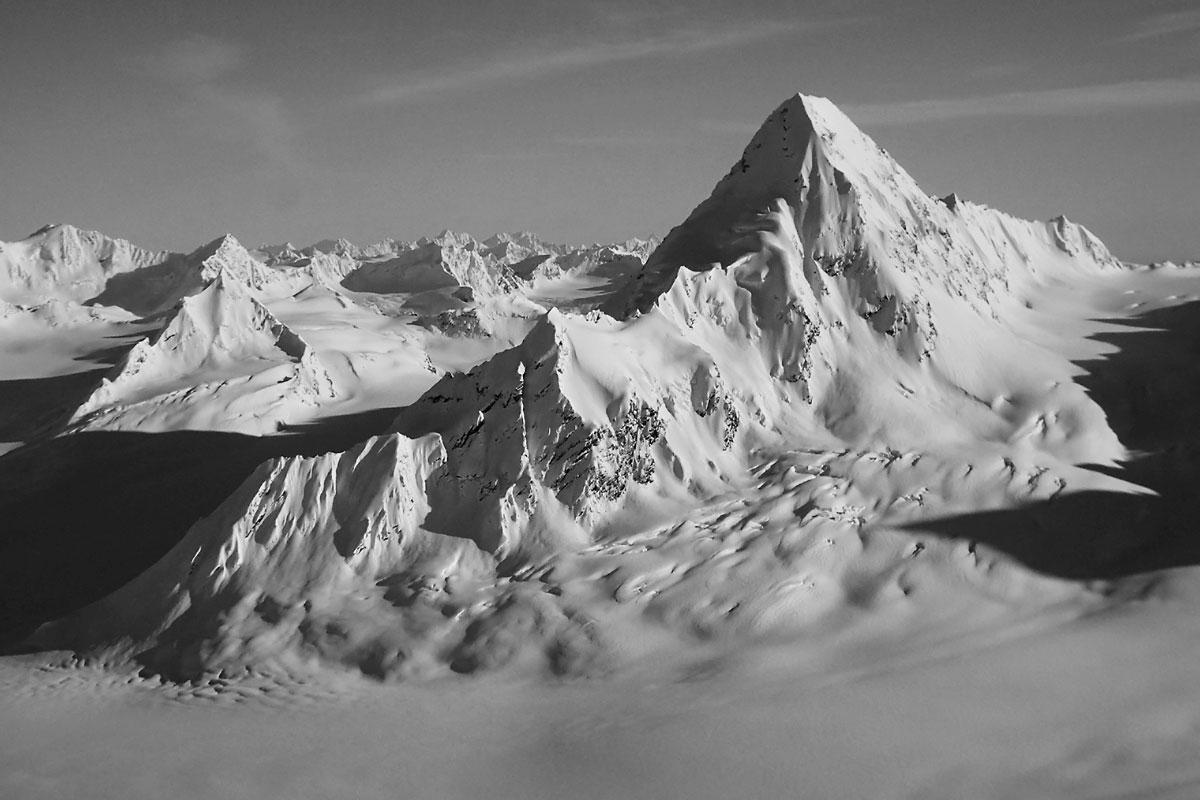 Pontoon Peak in the Chugach Mountains