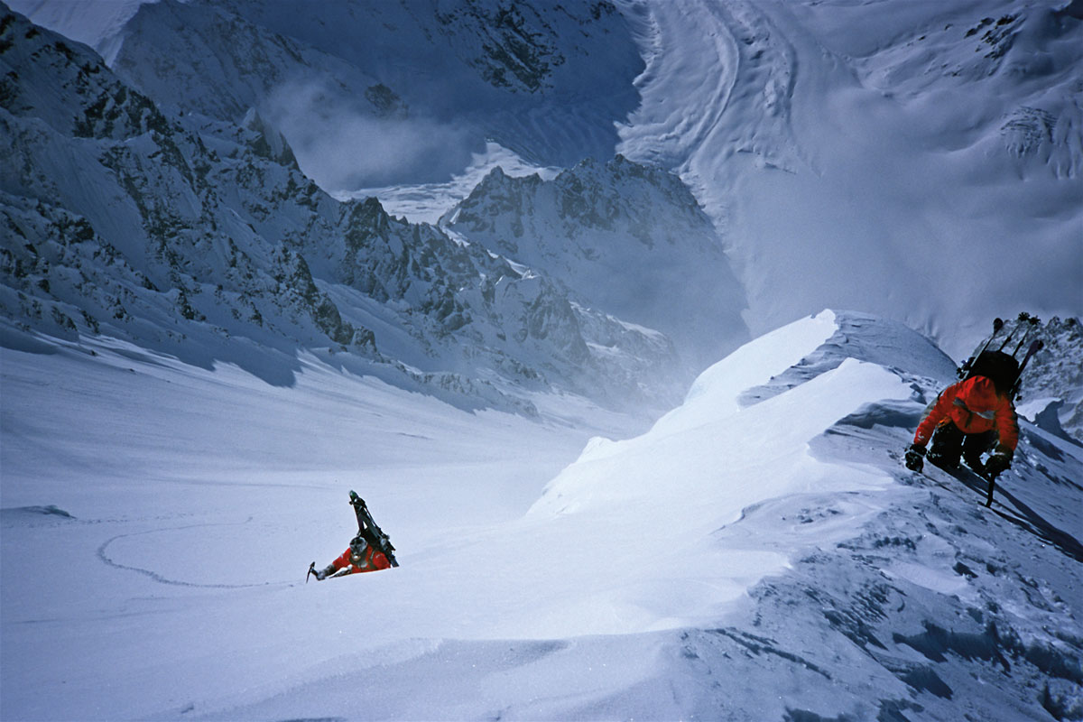 Climbing University Peak in Alaska