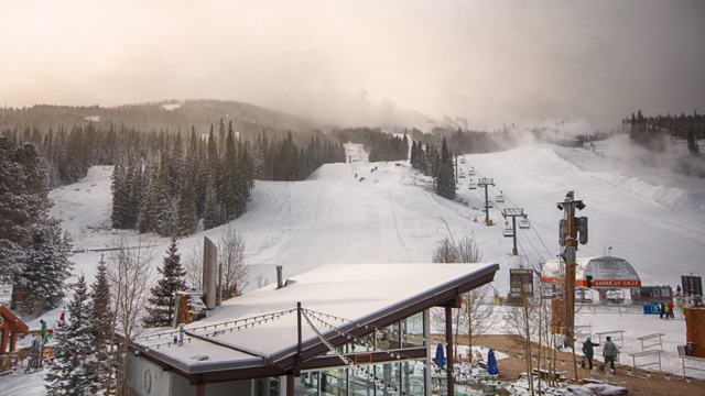 Copper Mountain in November 2012