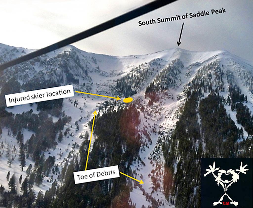 South Saddle avalanche