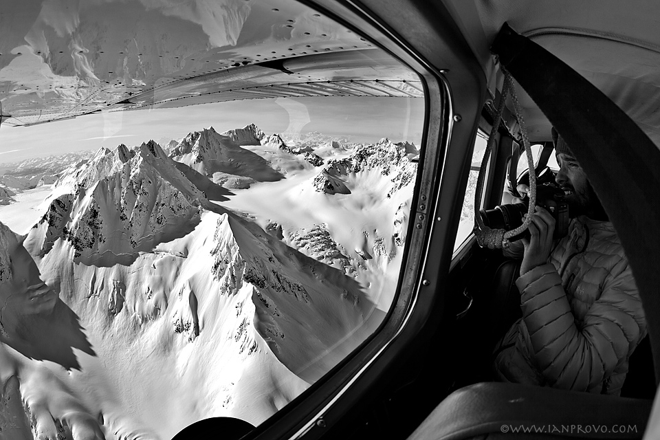 Flying In to AK