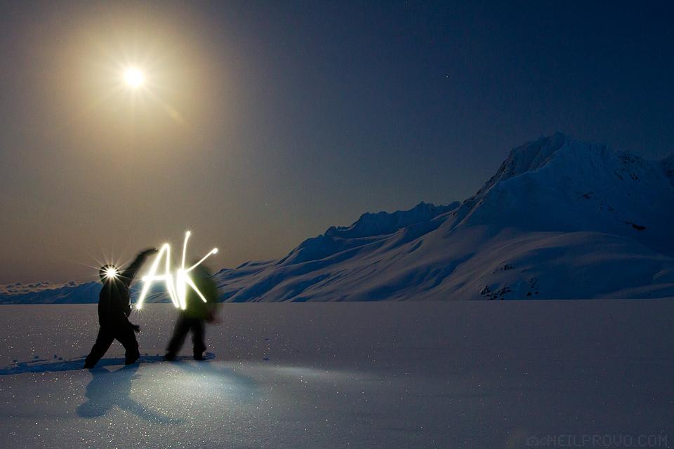 Full Moon in AK