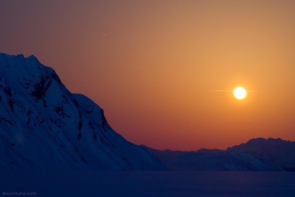 Glacier Moon