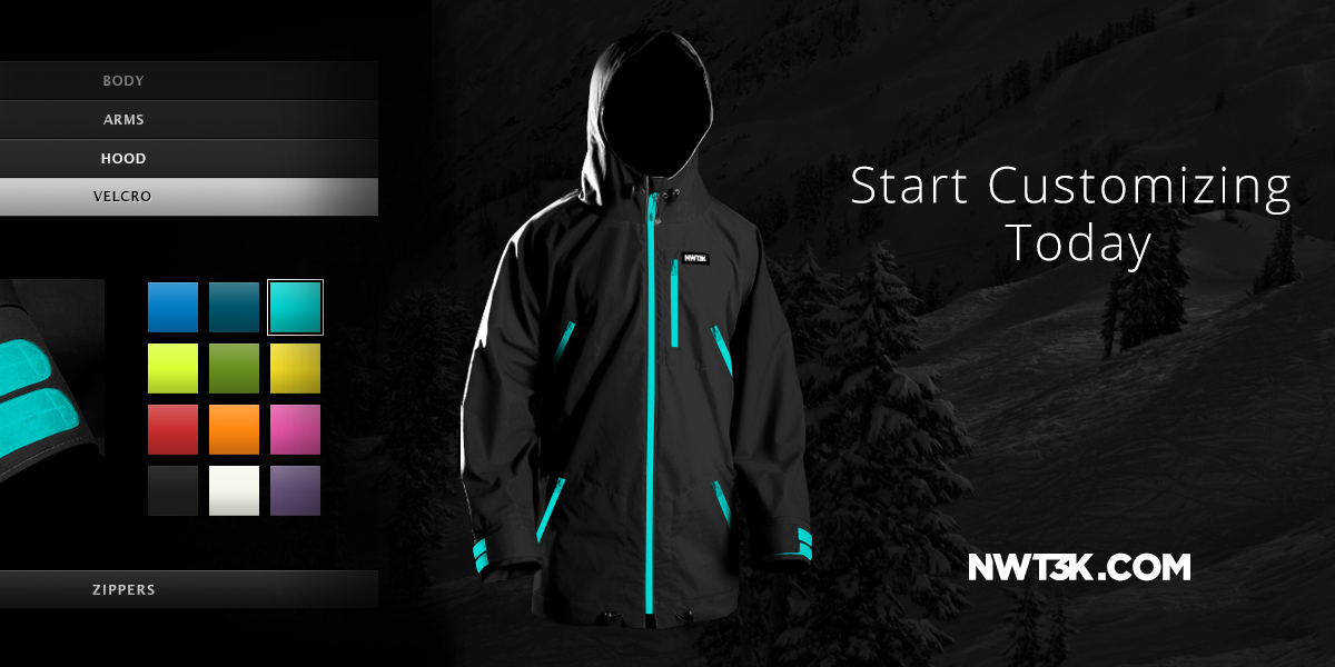 NWT3K Introduces New Level of Customization to Outerwear