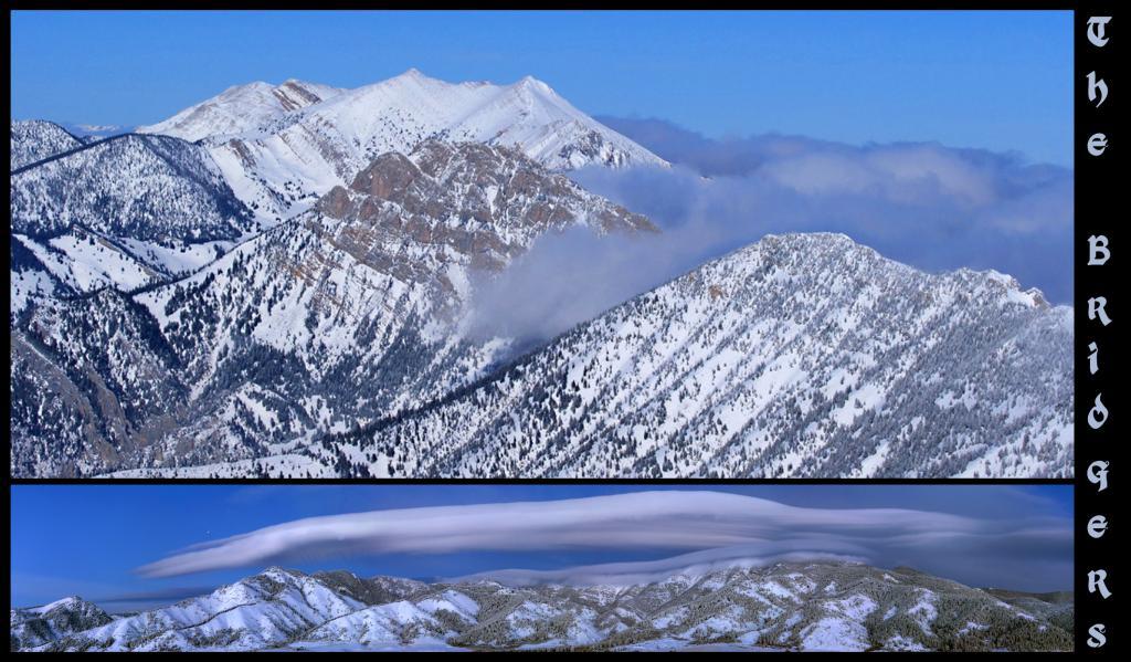 Bridger Range and the BBC Photo: Patrick Clayton
