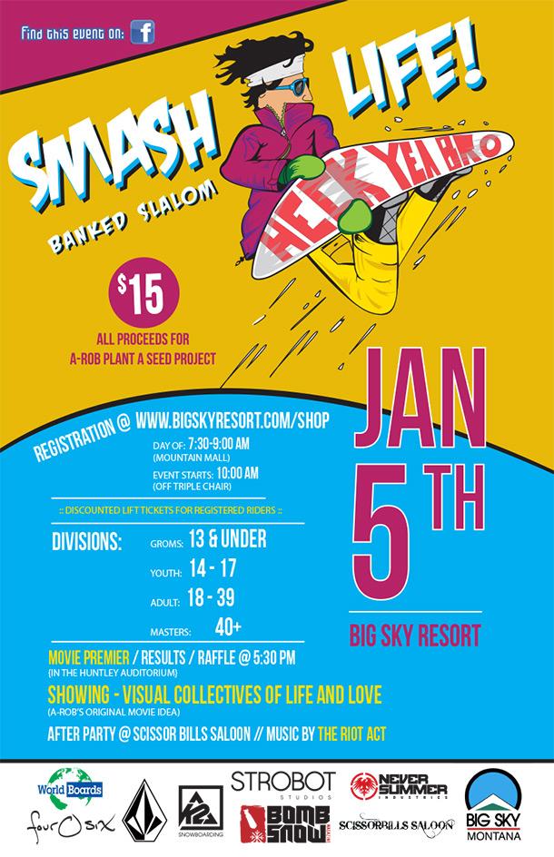 Smash Life! Banked Slalom
